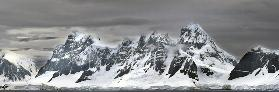 Icy Mountains Form the Cold Heart of the Gerlache Strait